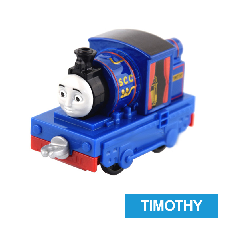 x57 Gift 1: 64 Vehicles Diecasts Thomas TIMOTHY Thomas And Friends Magnetic Thomas Truck Engine Train Toys For Boys