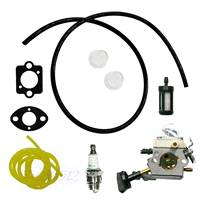 Carburetor Carb Fuel Hose Fit STIHL Blower SH56 SH56C SH86 SH86C 4241 120 0616