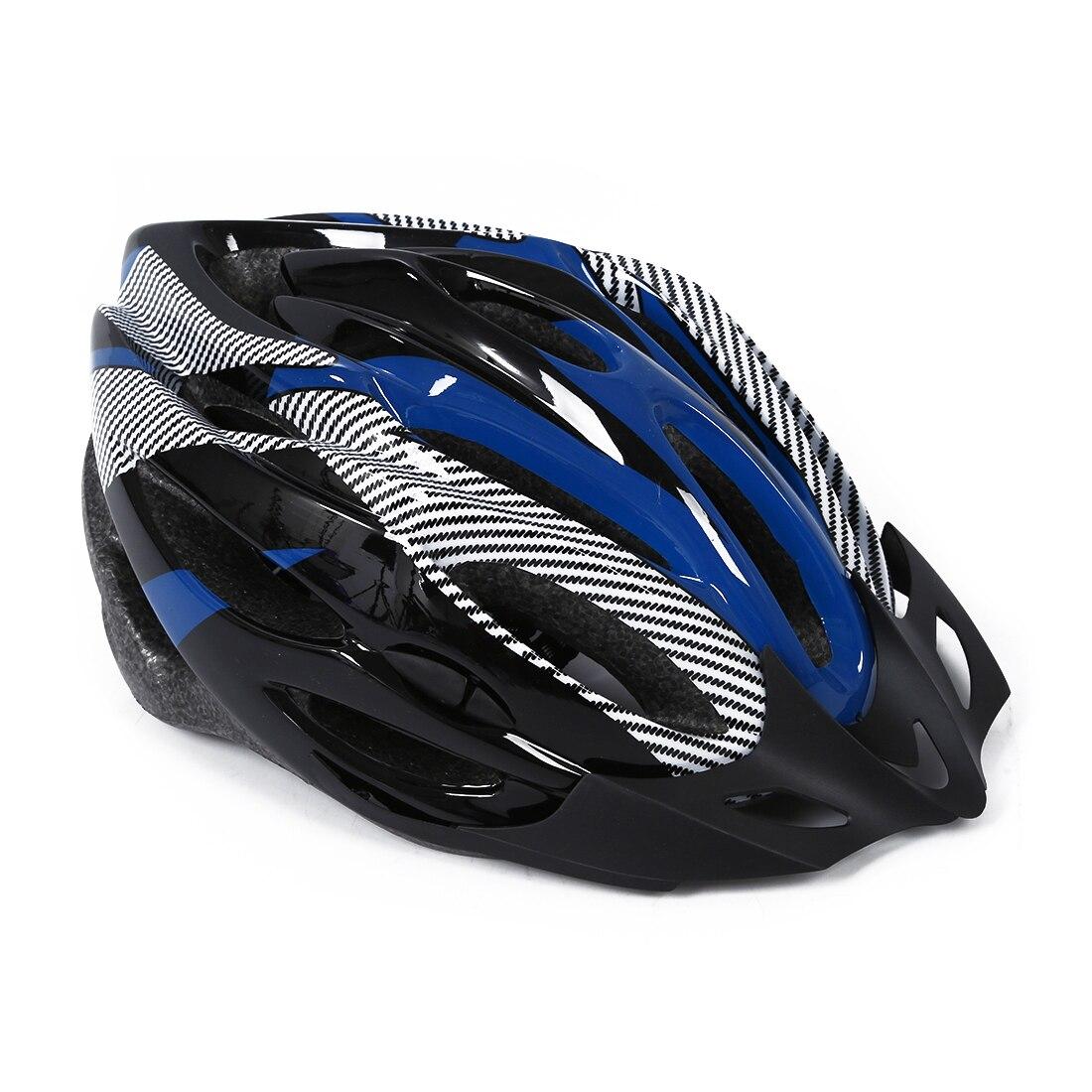 Blue Helmet visor Cycling Mountain Bike Bicycle Helmet bike Велосипедный шлем
