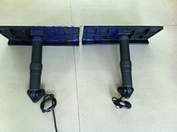 2 шт. набор для электрической отделки 455 мм * 235 мм высокопрочный сплав пластик устойчив к коррозии для одиночного электрического насоса лодк...