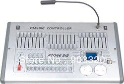 Tanie ceny DJ euipements Stone512 DMX komputera kontroler DMX kontroler światła konsoli DJ kontroler oświetlenia scenicznego|light controller dmx|light console dmxcheap dj controllers -