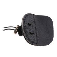 חיצוני חץ וקשת אצבע כרטיסיות 3 תחת Tab אצבע שומר להגן על משמר חץ וקשת אצבע Tab עור פרה מתכוונן אלסטי רצועה