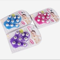 Leg Neck Massage Tools Roller Ball Body Relax Massager Balls Resin Steel Bead Anti Cellulite Muscle
