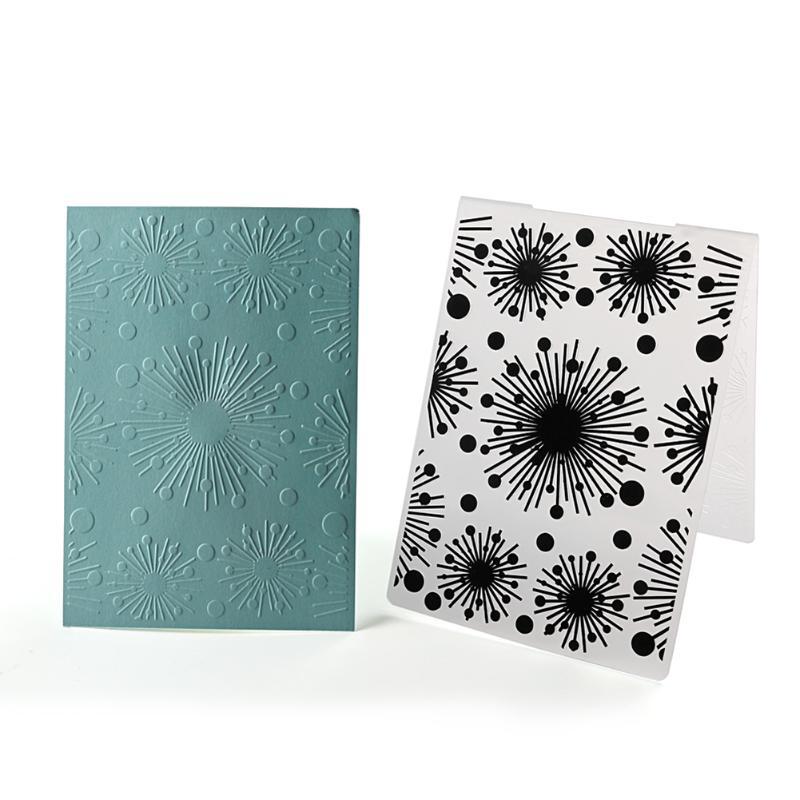 Christmas Snowflake Plastic Embossing Folder for Scrapbooking DIY ...