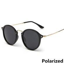 New Arrival Men Round Polarized Sunglasses coating Fashion Retro women Brand Designer Vintage mirrored glasses L3