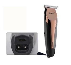 Image 5 - 100 240V profesjonalna precyzja maszynka do strzyżenia włosów elektryczna maszynka do włosów maszynka do strzyżenia brody maszynka do golenia 0.1mm Cutter mężczyzn fryzjer strzyżenie narzędzie