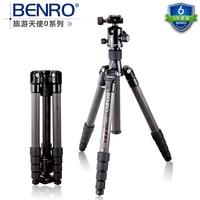Benro C2690TB1 тренога из углеволокна/комплект складного портативного штатива для однообъективной цифровой зеркальной камеры складной переносн