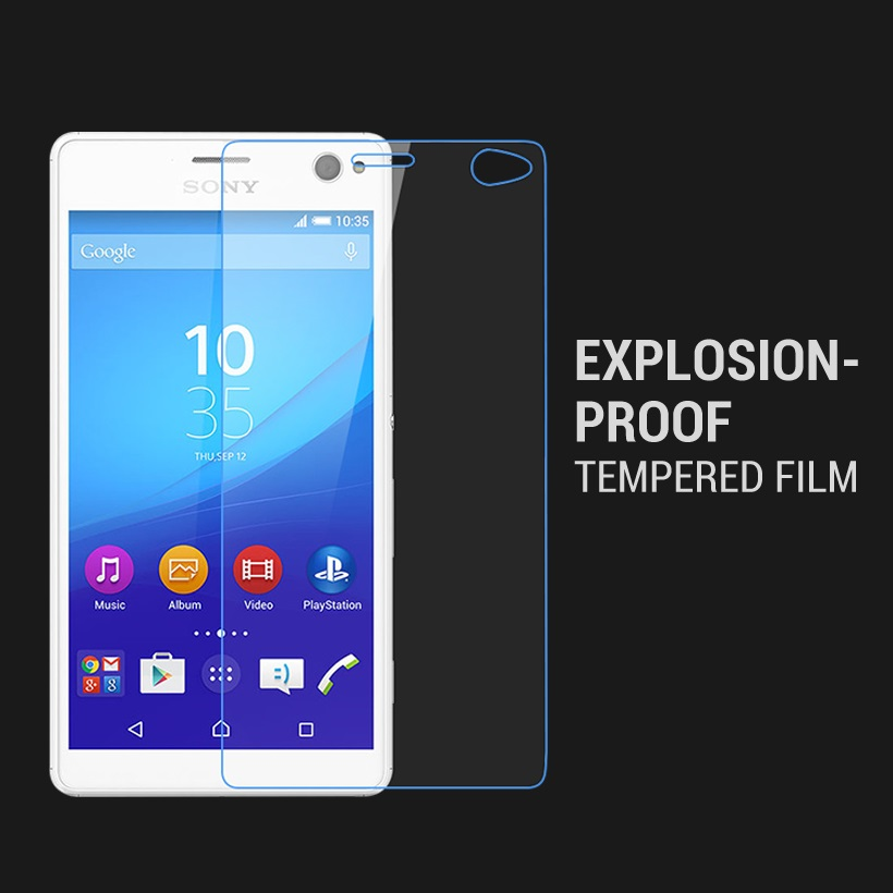 KardeemTempered Glass For <font><b>Sony</b></font> <font><b>Xperia</b></font> C4 Dual <font><b>E5333</b></font> E5306 E5303 E5353 Screen Protectors image