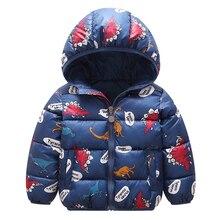 Baby Kids Jackets 2019 Autumn Winter Boys Jacket Girls Warm