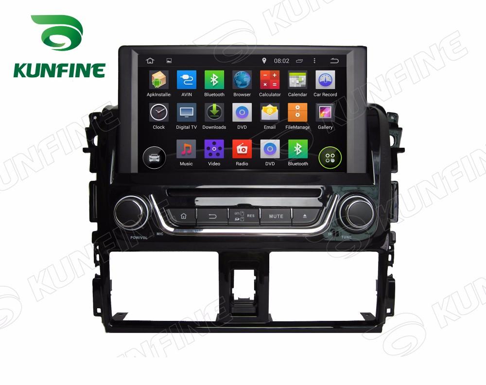 Car dvd GPS Navigation player for yaris 2014 B