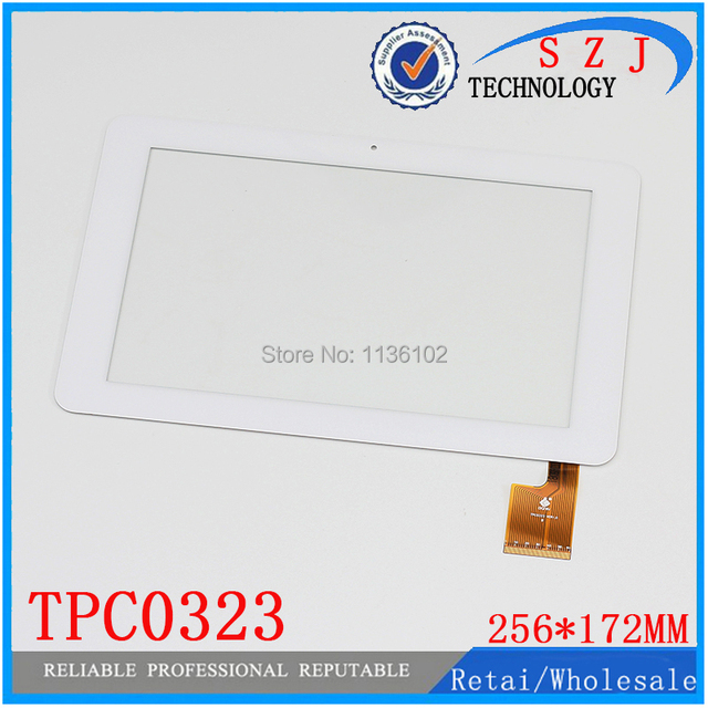 "Nuevo 10.1 ""pulgadas para Sanei N10 AMPE A10 Quad Core TPC0323 VER1.0 Pantalla Táctil del Panel Digitalizador 256*172mm Tablet PC envío gratis"