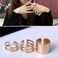 Fashion Korea Jewelry 2016 3pcs Punk Supernatural Ring set Wholesale Stack Finger Joint Rings For Girls Accessories