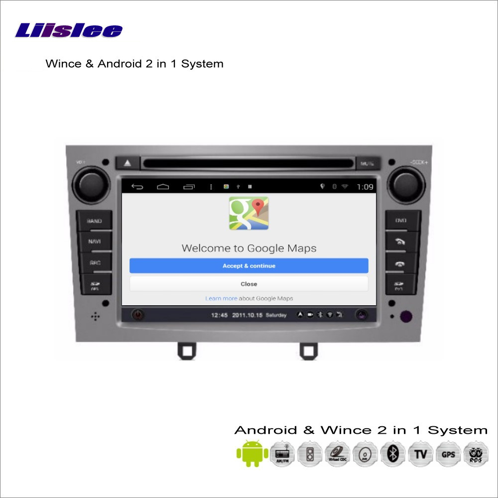Liislee Car Android Multimedia For Peugeot 308 Rcz 20082013 Radio Integral Audio Mini Cooper Amplfier Speaker Wiring Harness R55 R56 R57 Dvd Player Gps Nav Map Navigation Video Stereo System In