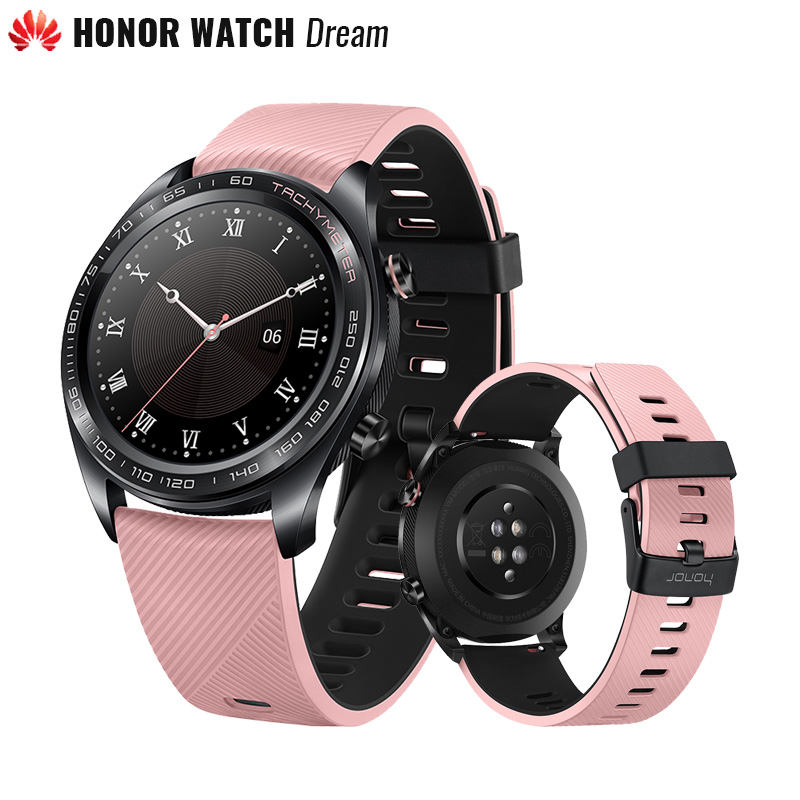Original Huawei Honor Watch Dream Outdoor Smart Watch Refined Craftsmanship 7 Days Per Charge Go Anywhere Smarter Living GPS