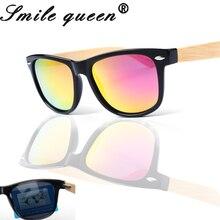 2016 New Bamboo Gafas De Sol mujer Gafas De Sol De Madera Gafas De Sol Masculino Madera Gafas De Sol polarizadas hombres Gafas Madera De Sol