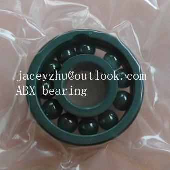 6006 full SI3N4 ceramic deep groove ball bearing 30x55x13mm ABEC3 high quality full complement bearing gcr15 6036 180x280x46mm high precision deep groove ball bearings abec 1 p0 1 pcs