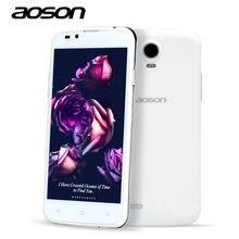 Белый/серый aoson разблокирована sim cam смартфон core dual мобильный android дюймов
