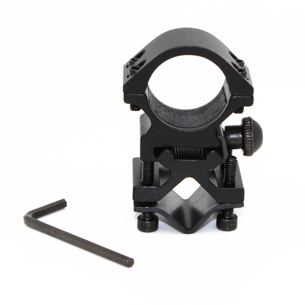 For 501B C8 Hunting Tactical Flashlight Laser Torch Bracket 25mm Ring 20mm Rail Gun Mount quick release flashlight laser mount holder for 20mm rail gun black 20mm diameter