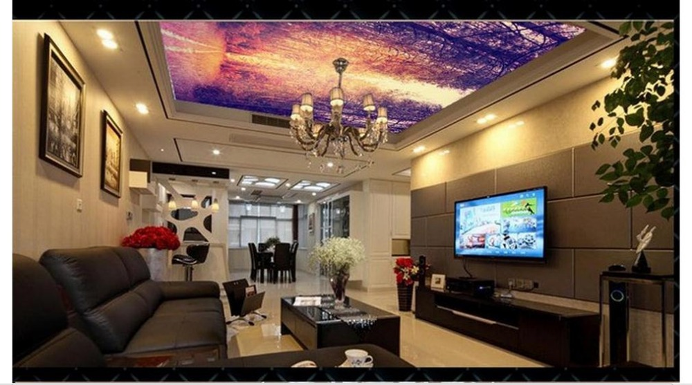 Online Kaufen Großhandel Holz Decken Fotos Aus China Holz Decken ... Decken Deko Wohnzimmer
