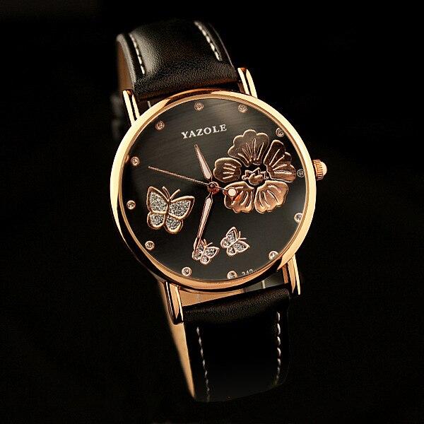 YAZOLE Butterfly Ladies Wrist Watch s