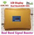 Лучшие цены жк-экран! Двухдиапазонный 65dBi GSM / DCS 900 мГц 1800 мГц мобильный телефон повторитель сигнала GSM DCS усилитель руля расширитель