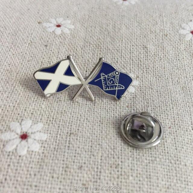 100pcs Customized Flag Pins Masonic Square and Compass Friendship Pin  Badges Enamel Brooch Blue Lodge Freemasons Gift 28a43c1f8057