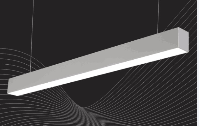 Free Shipping High Quality 1500mm 5 feet 45w LED linear light with suspended cable and connectors for office lighting цена и фото