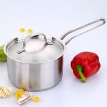 Saucepan milk pot Thickening 304 stainless steel pot hot casserole small soup pot  furnace general