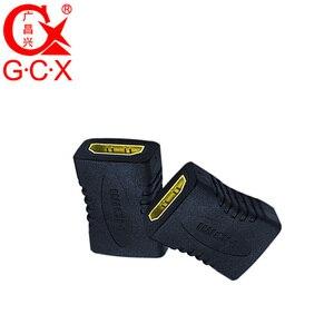 Image 4 - GCX משלוח חינם HDMI מתאם ממיר נקבה לנקבה 1080P ברזולוציה גבוהה HDMI כבל הארכת מצמד מחבר