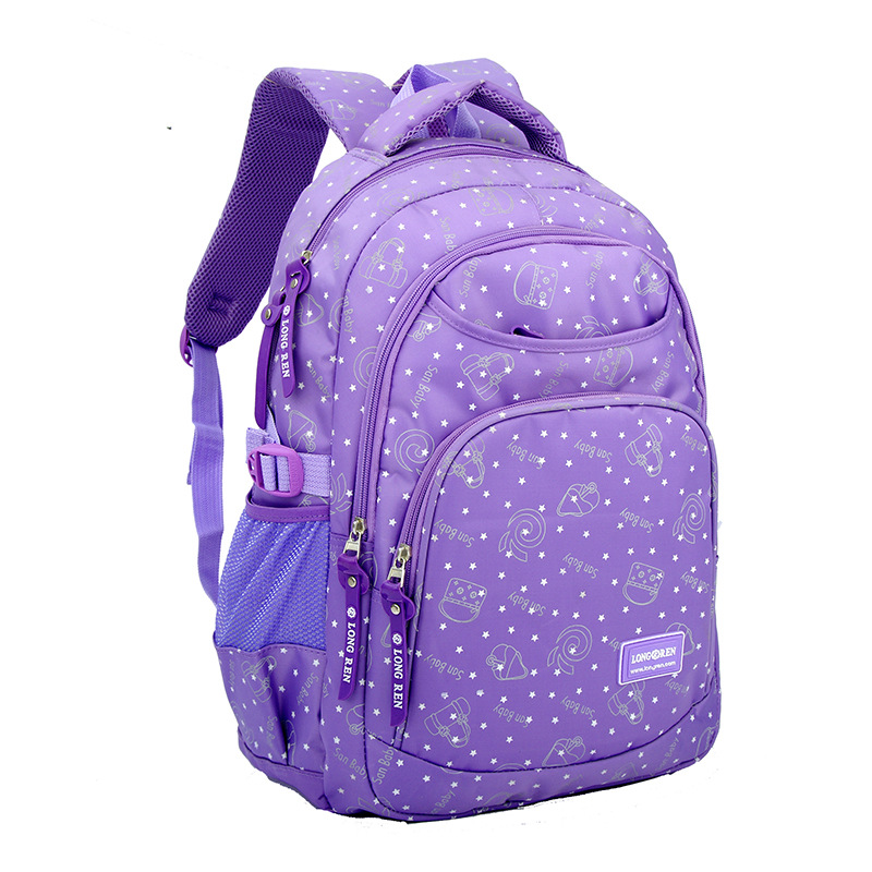 2018 Star Printing School Backpack for Girls Kids Schoolbag Children  Backpacks Book Bag Best Students Travel Backpack Rucksacks-in School Bags  from Luggage ... 14a302db70ac3