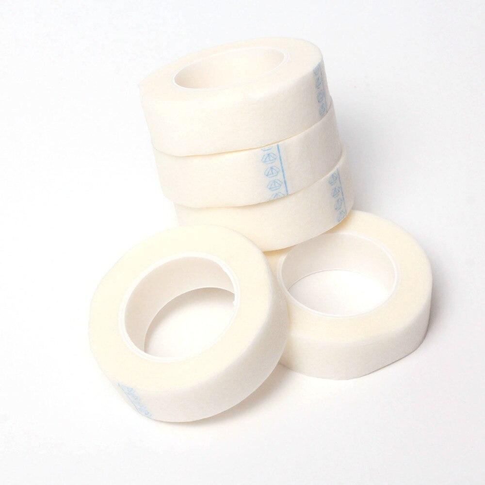 10 PCS/LOT Rolls Eyelash Tape Lash Individual Extension Tools Supply Medical Tape Eye patch Technician