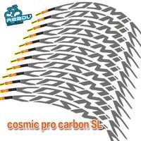 Mavic Cosmic Pro Carbon SL велосипед 50 мм колеса Светоотражающие Стикеры диски Предупреждение наклейки Водонепроницаемый Стикеры Аксессуары для вело...