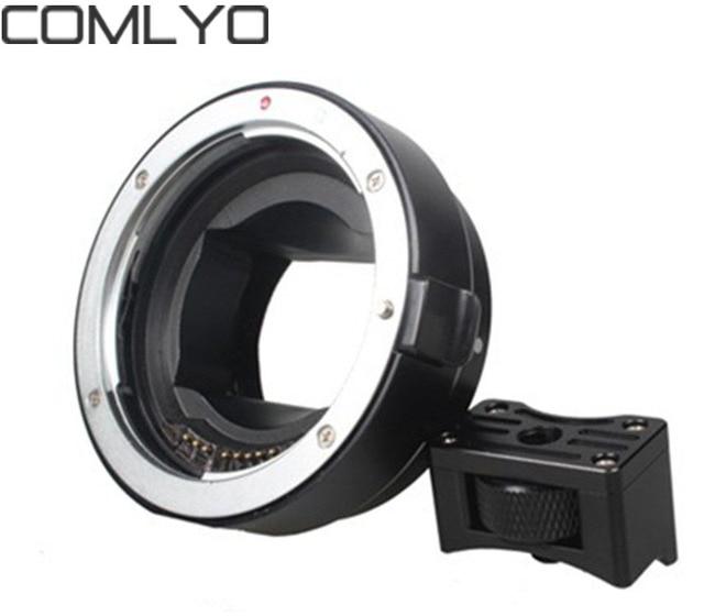 COMLYO Camera Lens Adapter EF nex Lens Adapter for A7 A7R Auto focus ...