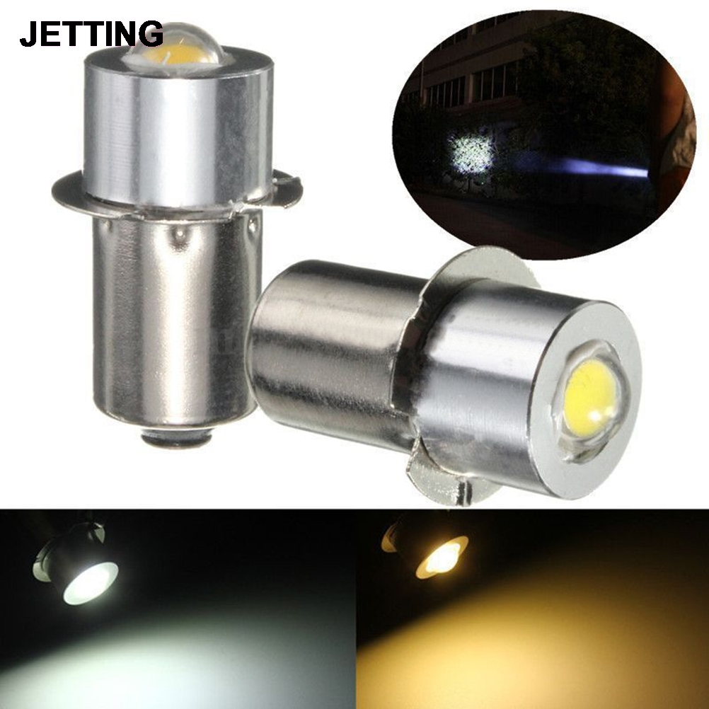 90Lumen DC3-18V P13.5S PR2 1W LED Flashlight For Interior Bike Torch Spot Lamp Bulb High Brightness Warm/Pure White