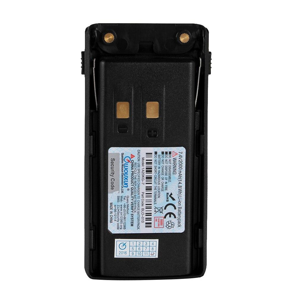 WOUXUN DC7.4V 2000mAh литий ионный аккумулятор для WOUXUN KG UV9D оригинальный Wouxun KG UV9D Аккумулятор аксессуары для рации