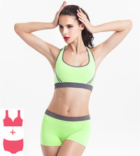Gym Yoga Set Women Sets 2 Piece Hollow Out Workout Clothes For Sportswear Fitness Clothing Sports Active Wear