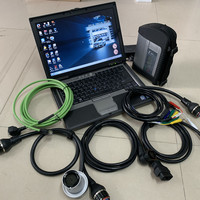 mb diagnosis star c4 with 320gb hdd 2019.05 newest software with for dell d630 second hand laptop ram 4g high quality full set