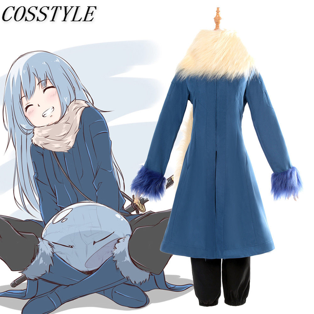 Anime Tensei Shitara Slime Datta Ken Rimuru Tempest Cosplay Costume That Time I Got Reincarnated as a Slime Rimuru Cosplay Sets