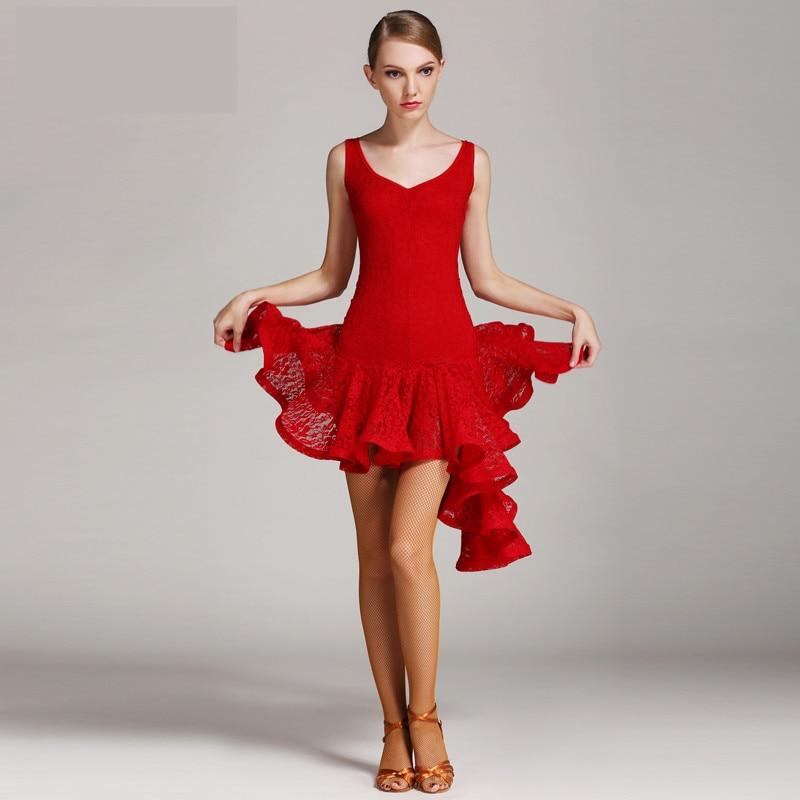 Newest Sleeveless Ballroom Dance Skirt Lady Stage Waltz Tango Flomenco Costume Adult High Quality Ballroom Competition Dresses