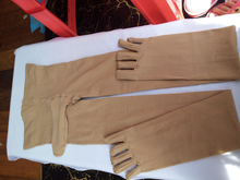 Ripped pantyhose stockings