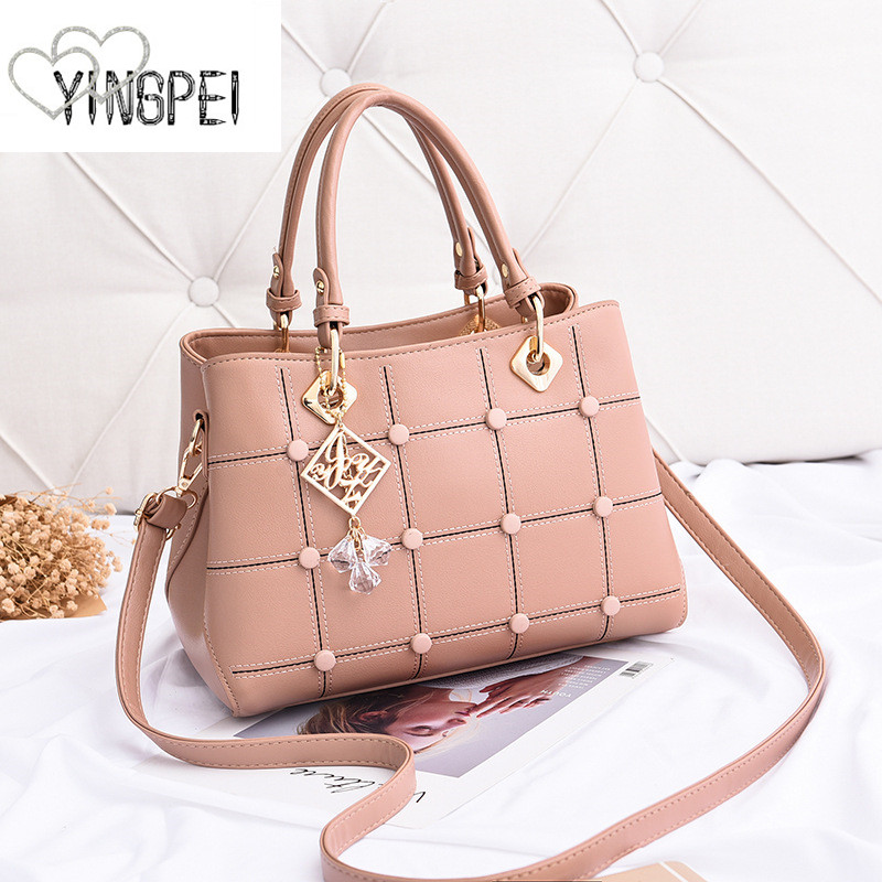 Women Bag Designer New Fashion Casual Women's Handbags Luxury Shoulder Bag High Quality PU Brand Sweet Lady Tassel Korean Style