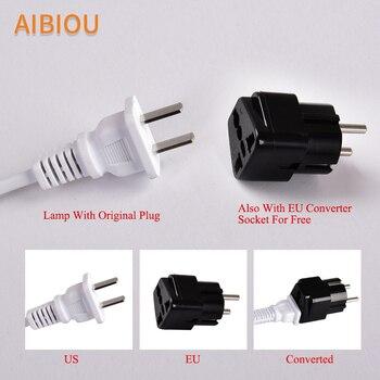 AIBIOU Nordic LED กับผ้าโคมไฟสำหรับห้องนั่งเล่น E27 ไม้อ่านโคมไฟข้างเตียงโต๊ะไฟ