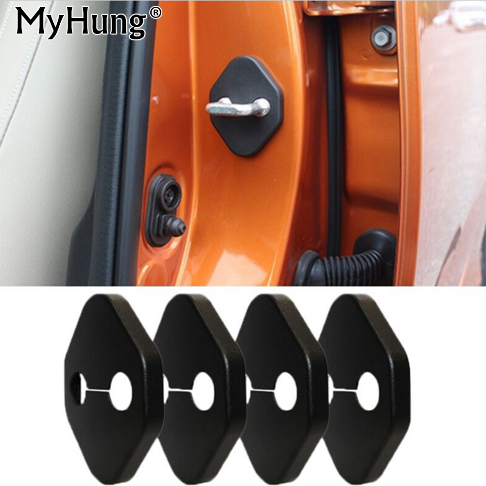 Car Door Lock Protective Cover For Toyota RAV4 2013 2014 Camry 2012 Vios 2005 2006 Honda Accord FIT CITY CRV CIVIC Vezel Cars
