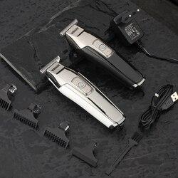 Wmark barbeiro detalhe do cabelo aparador de barba carro máquina de cortar cabelo elétrico corte de cabelo navalha borda t-wide lâmina detailer