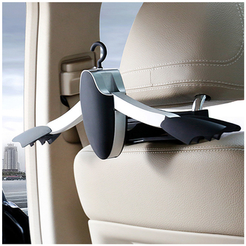 Car Seat Headrest Clothes Hanger Jacket Suit Holder Rack Coat Hanger Clothes Socks hats ties hook for Benz BMW Lincoln audi new image