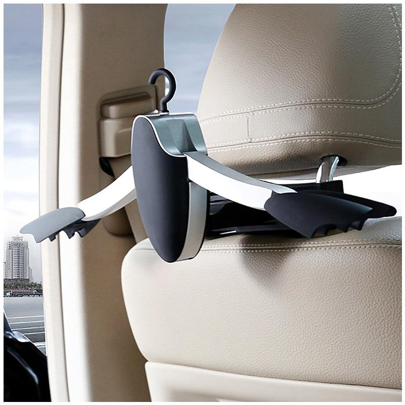 Siège auto appui-tête vêtements cintre veste costume porte-manteau cintre vêtements chaussettes chapeaux cravates crochet pour Benz BMW Lincoln audi nouveau