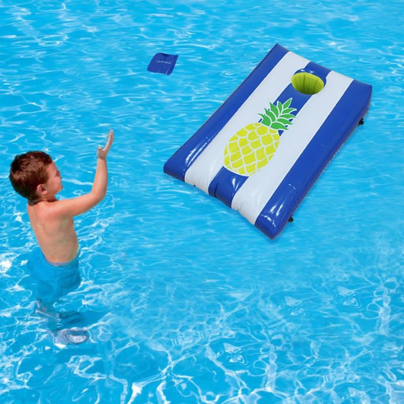 ᗐinflable Corrnhole Arena Tiro Juego Para Ninos Adulto Agua