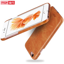 Mofi for iphone 6s case leather brown case cover 4.7 for apple iphone 6 case accesories black protection luxury original funda стоимость