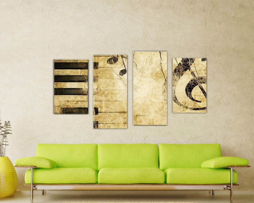 NAN Wind modern wall art home decoration printed oil painting ...