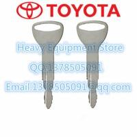 2PCS Toynew Key For Toyota Forklift Fork Lift Heavy Equipment Ignition Starter Switch  TOY NEW Car Key    -